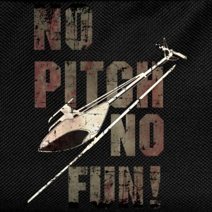 3D-Heli Modellflieger no-Pitch-no-fun-used - RAHMENLOS RC Car Flugzeug Hobby Design T-Shirts - Kinder Rucksack