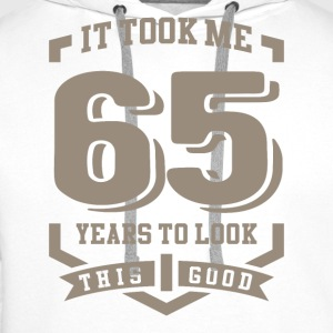 It Took Me 65 Years - Men's Premium Hoodie