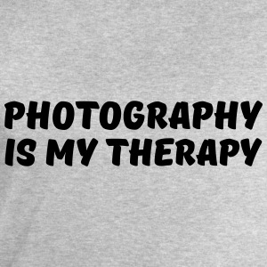 Photography is my therapy T-Shirts - Men's Sweatshirt by Stanley & Stella