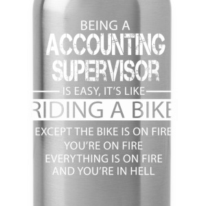 Accounting Supervisor T-Shirts - Water Bottle