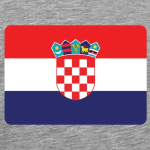 CROATIA IS NO. 1 Sports wear - Men's Premium T-Shirt
