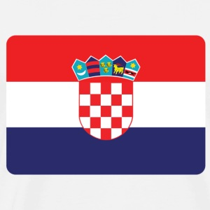 CROATIA IS NO. 1 Long sleeve shirts - Men's Premium T-Shirt