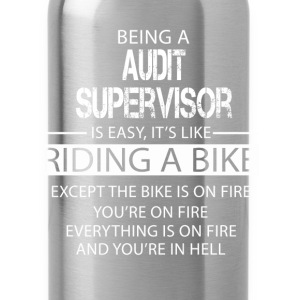 Audit Supervisor T-Shirts - Water Bottle