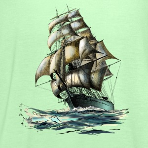 sailing ship Shirts - Women's Tank Top by Bella