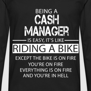 Cash Manager T-Shirts - Men's Premium Longsleeve Shirt