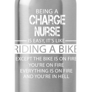 Charge Nurse T-Shirts - Water Bottle
