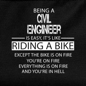 Civil Engineer T-Shirts - Kids' Backpack