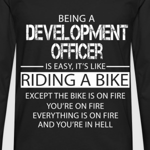 Development Officer T-Shirts - Men's Premium Longsleeve Shirt