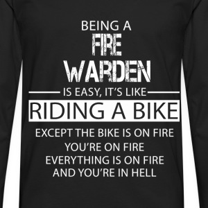 Fire Warden T-Shirts - Men's Premium Longsleeve Shirt