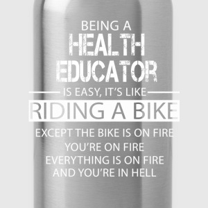Health Educator T-Shirts - Water Bottle