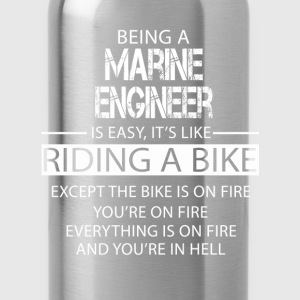 Marine Engineer T-Shirts - Water Bottle