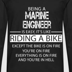 Marine Engineer T-Shirts - Men's Premium Longsleeve Shirt