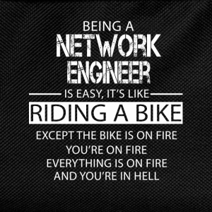 Network Engineer T-Shirts - Kids' Backpack