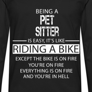 Pet Sitter T-Shirts - Men's Premium Longsleeve Shirt