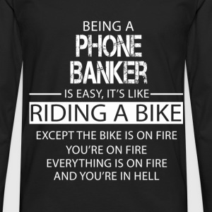 Phone Banker T-Shirts - Men's Premium Longsleeve Shirt