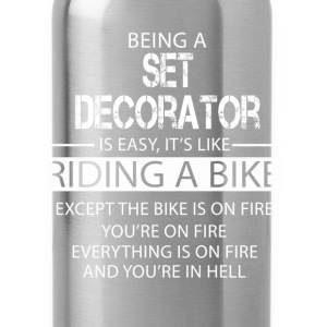 Set Decorator T-Shirts - Water Bottle