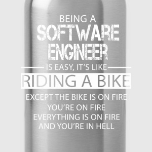 Software Engineer T-Shirts - Water Bottle