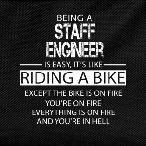 Staff Engineer T-Shirts - Kids' Backpack