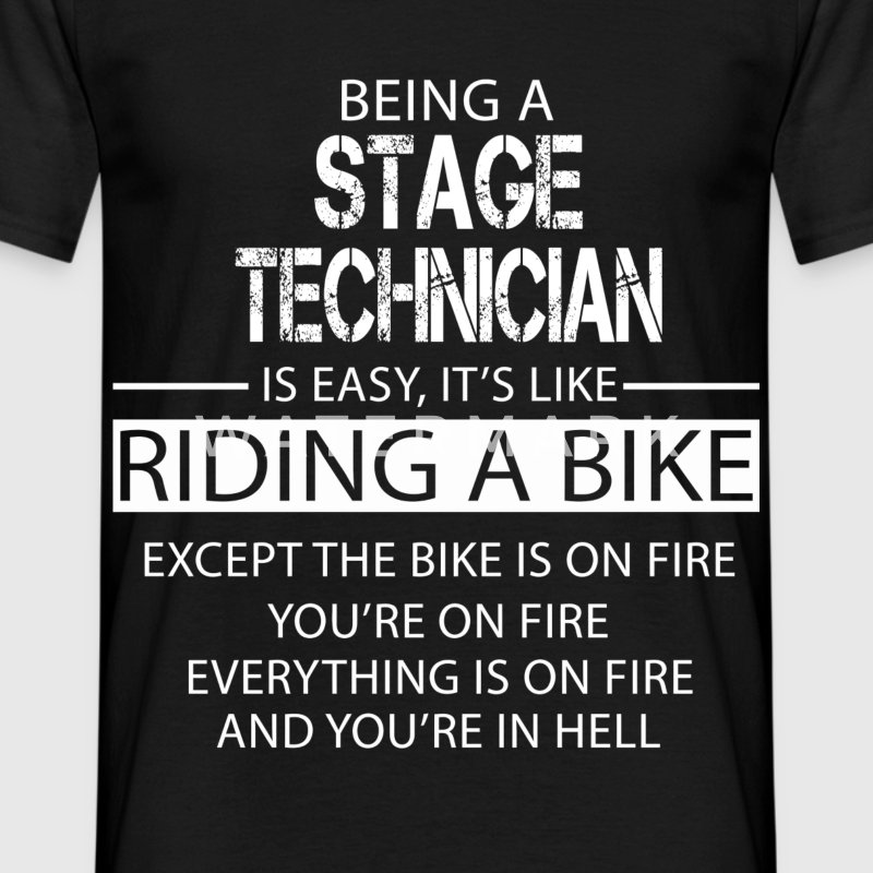 Stage Technician T-Shirts - Men's T-Shirt