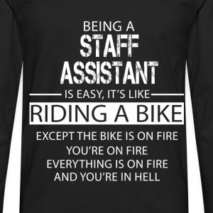 Staff Assistant T-Shirts - Men's Premium Longsleeve Shirt