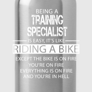 Training Specialist T-Shirts - Water Bottle