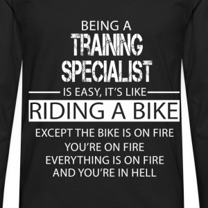 Training Specialist T-Shirts - Men's Premium Longsleeve Shirt