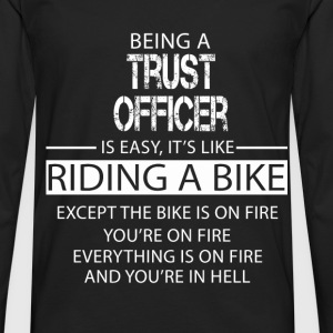 Trust Officer T-Shirts - Men's Premium Longsleeve Shirt