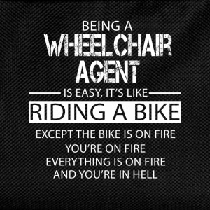 Wheelchair agent T-Shirts - Kids' Backpack
