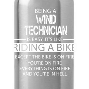 Wind Technician T-Shirts - Water Bottle