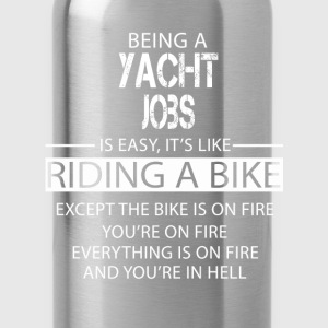 Yacht Jobs T-Shirts - Water Bottle