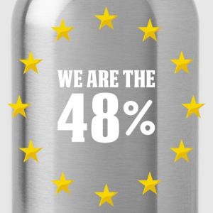 We Are The 48% T-Shirts - Water Bottle