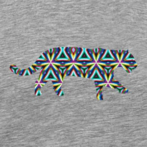 Jaguar Kaleidoscope Design 1 Other - Men's Premium T-Shirt