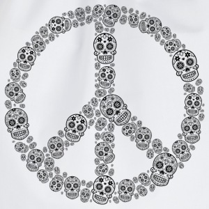 Skull Peace T-Shirt - Turnbeutel