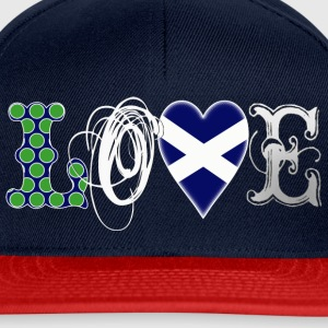Love Scotland white T-Shirts - Snapback Cap