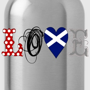 Love Scotland Black - Trinkflasche
