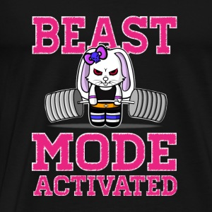 Bunny Beast Mode Activated - T-shirt Premium Homme