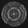Sweat-shirt Psychédélique mandala  - Sweat-shirt contraste