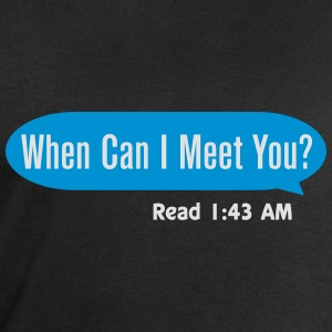 When can I meet you Tee shirts - Sweat-shirt Homme Stanley & Stella