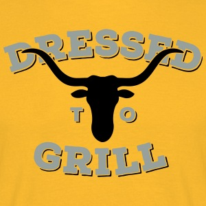 Dressed to Grill 2C Tops - Men's T-Shirt