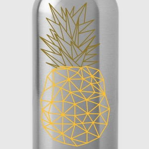 Pineapple (Geometric Style) T-Shirts - Trinkflasche
