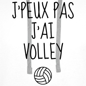 Volleyball - Volley Ball - Volley-Ball - Sport Tee shirts - Sweat-shirt à capuche Premium pour hommes