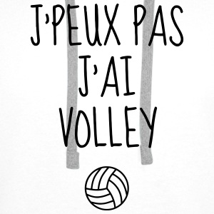 Volleyball - Volley Ball - Volley-Ball - Sport Bodys Bébés - Sweat-shirt à capuche Premium pour hommes