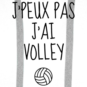 Volleyball - Volley Ball - Volley-Ball - Sport Bouteilles et Tasses - Sweat-shirt à capuche Premium pour hommes