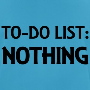 To-Do List: Nothing Ropa deportiva - Camiseta hombre transpirable