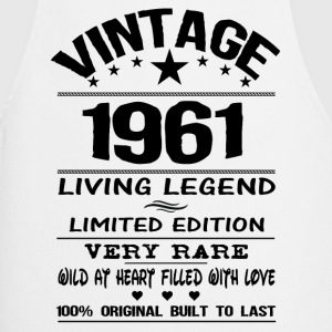 VINTAGE 1961-LIVING LEGEND T-Shirts - Cooking Apron