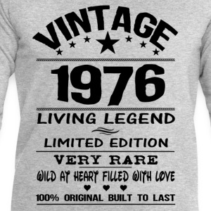 VINTAGE 1976-LIVING LEGEND T-Shirts - Men's Sweatshirt by Stanley & Stella