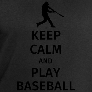 keep calm and play baseball Tee shirts - Sweat-shirt Homme Stanley & Stella