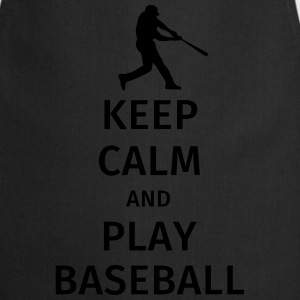keep calm and play baseball Tee shirts - Tablier de cuisine