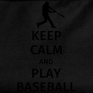 keep calm and play baseball T-shirts - Rugzak voor kinderen