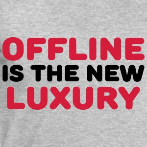 Offline is the new luxury T-Shirts - Männer Sweatshirt von Stanley & Stella